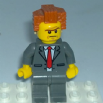 Lego Movie  President Business Minifigure